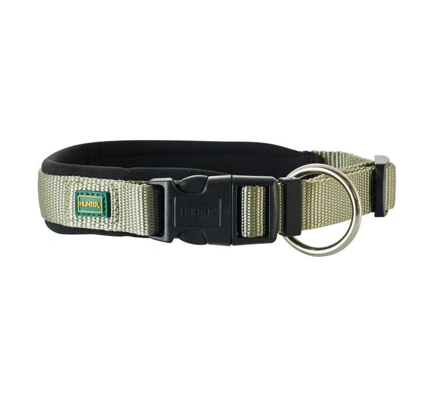 Dog Collar Neoprene Vario Plus Olive