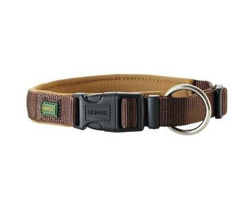 Hunter Dog Collar Neoprene Vario Plus Brown