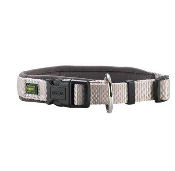 Hunter Dog Collar Neoprene Vario Plus Grey