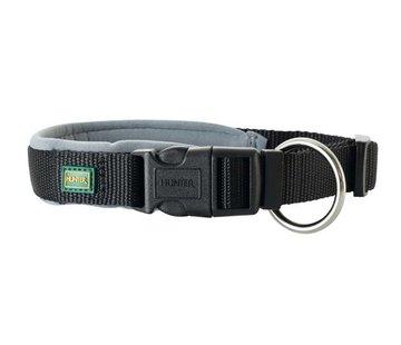 Hunter Dog Collar Neoprene Vario Plus Black