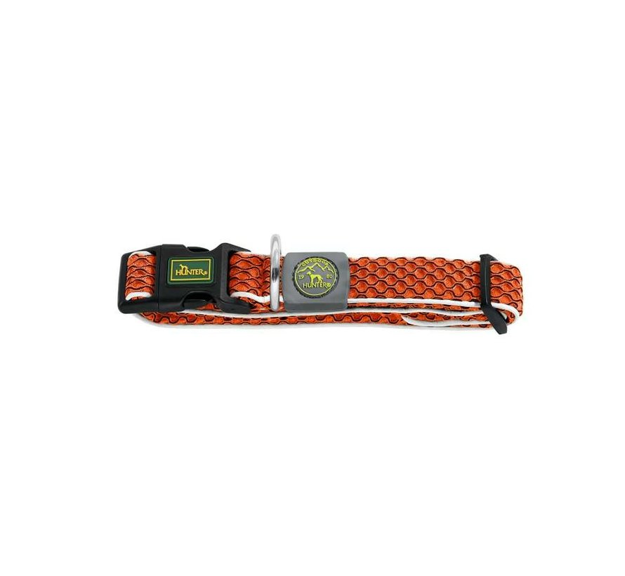 Hondenhalsband Hilo Vario Basic Oranje