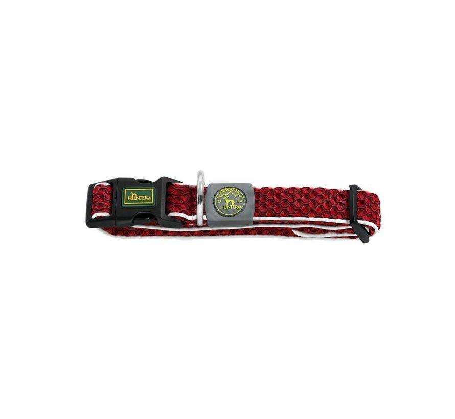 Dog Collar Hilo Vario Basic Red