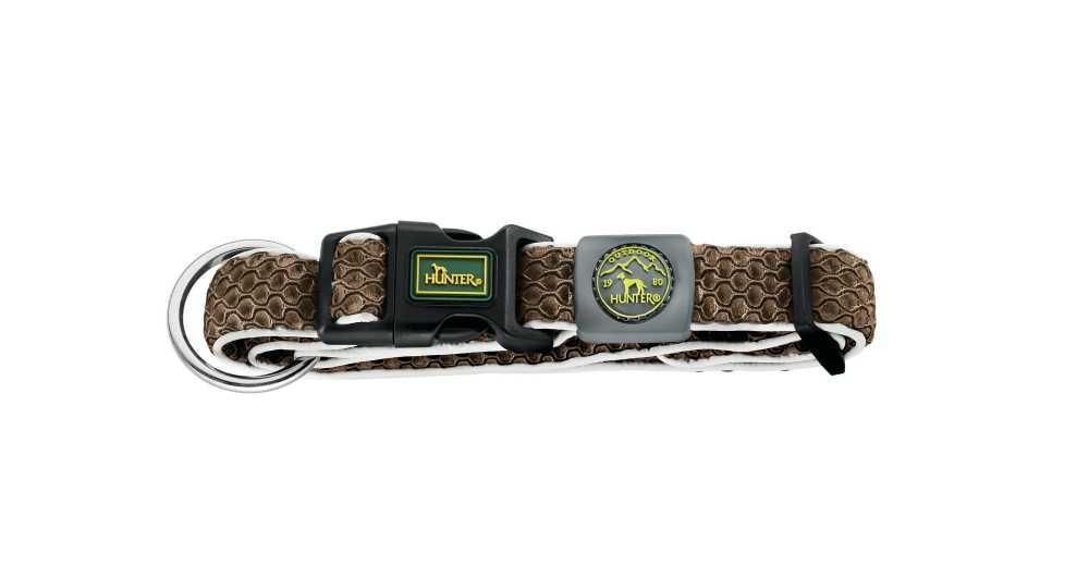 Hondenhalsband Hilo Vario Plus Bruin