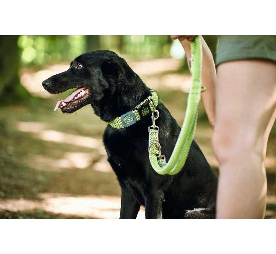 Verstelbare Hondenriem Hilo Lime