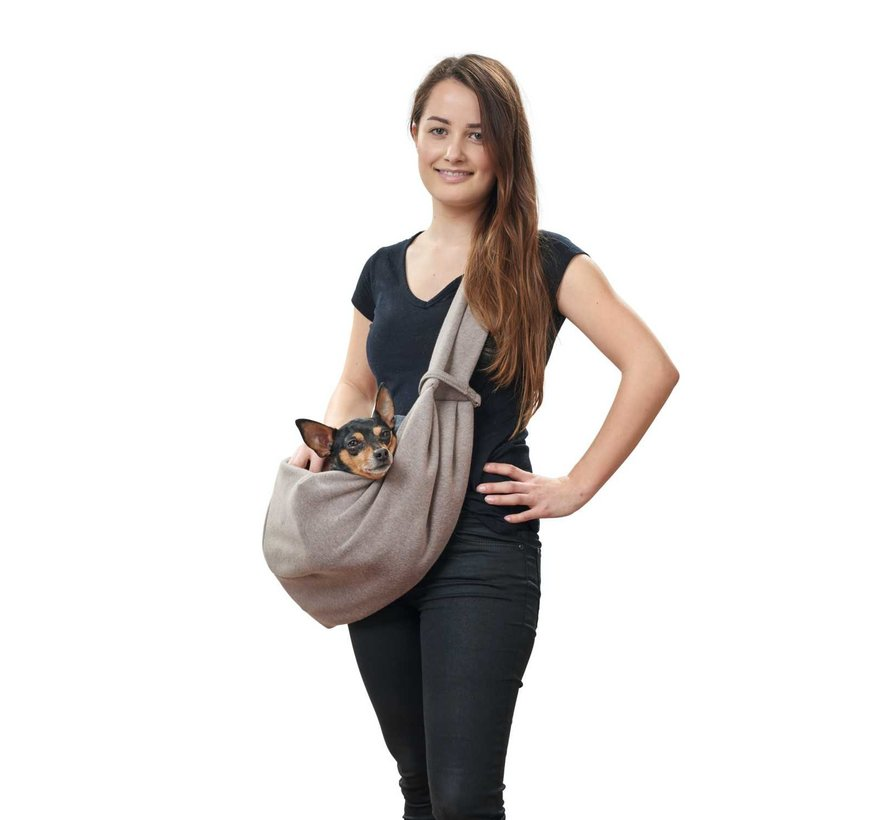 Dog Carrier Los Angeles Taupe