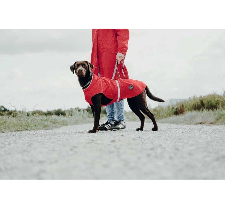 Regenjas Hond Uppsala Rood