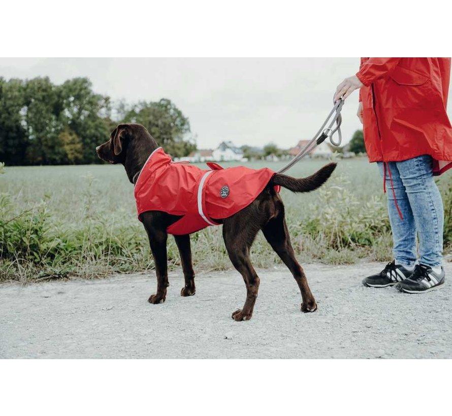 Dog Raincoat Uppsala Red