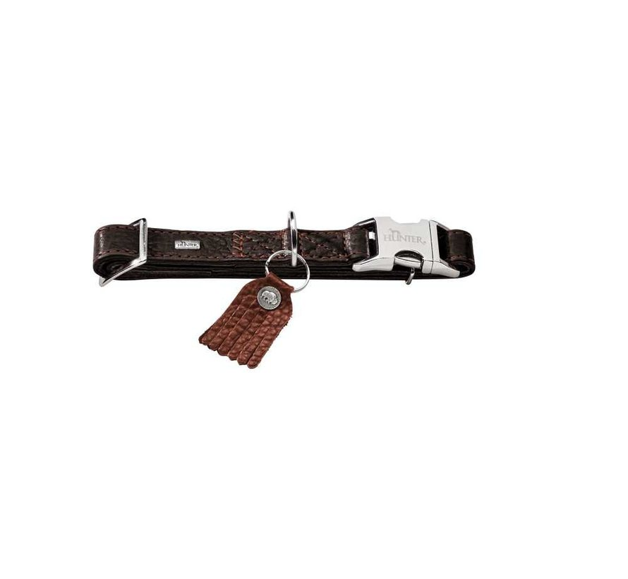 Dog Collar Cody Alu Strong Brown