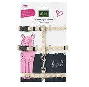 Hunter Cat Harness Laura Cream