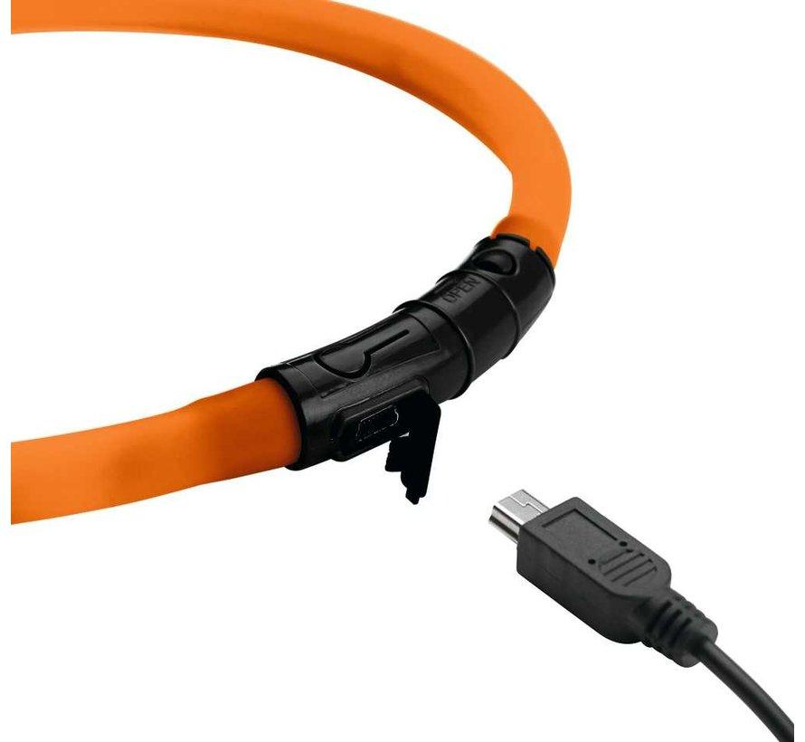 LED Cat Collar Yukon Orange