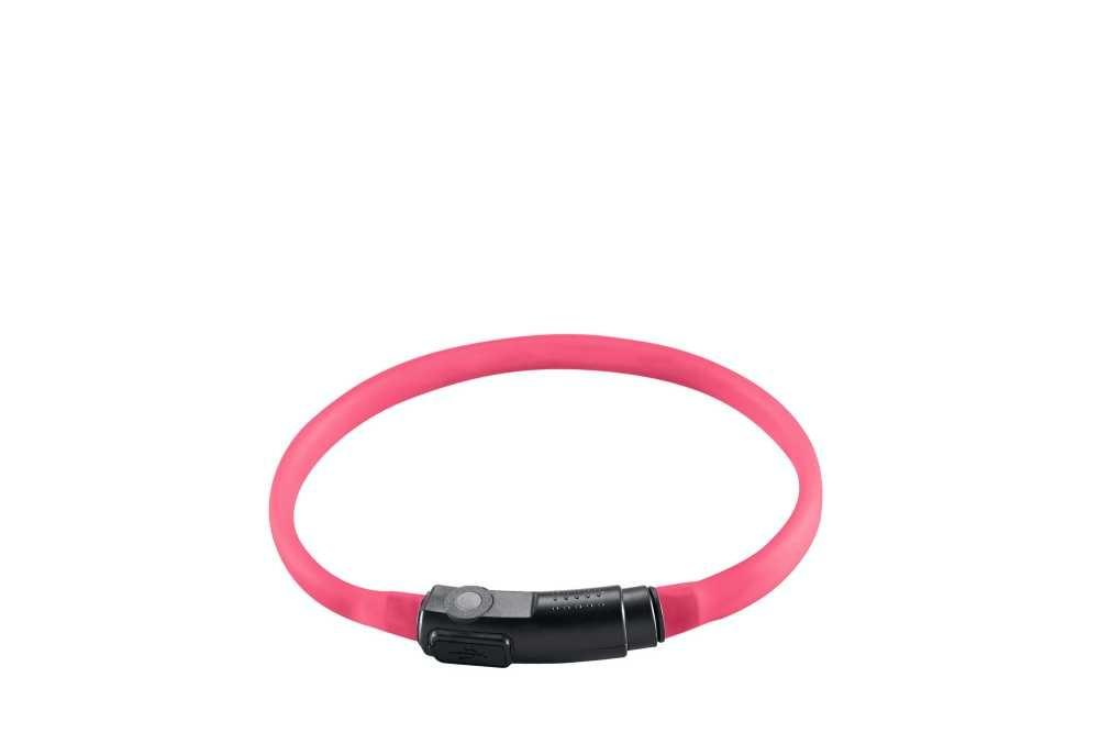 Lichtgevende Kattenhalsband Yukon Roze