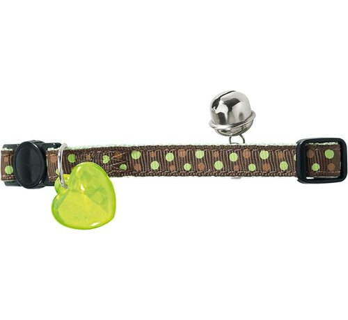 Hunter Kattenhalsband Dots Groen
