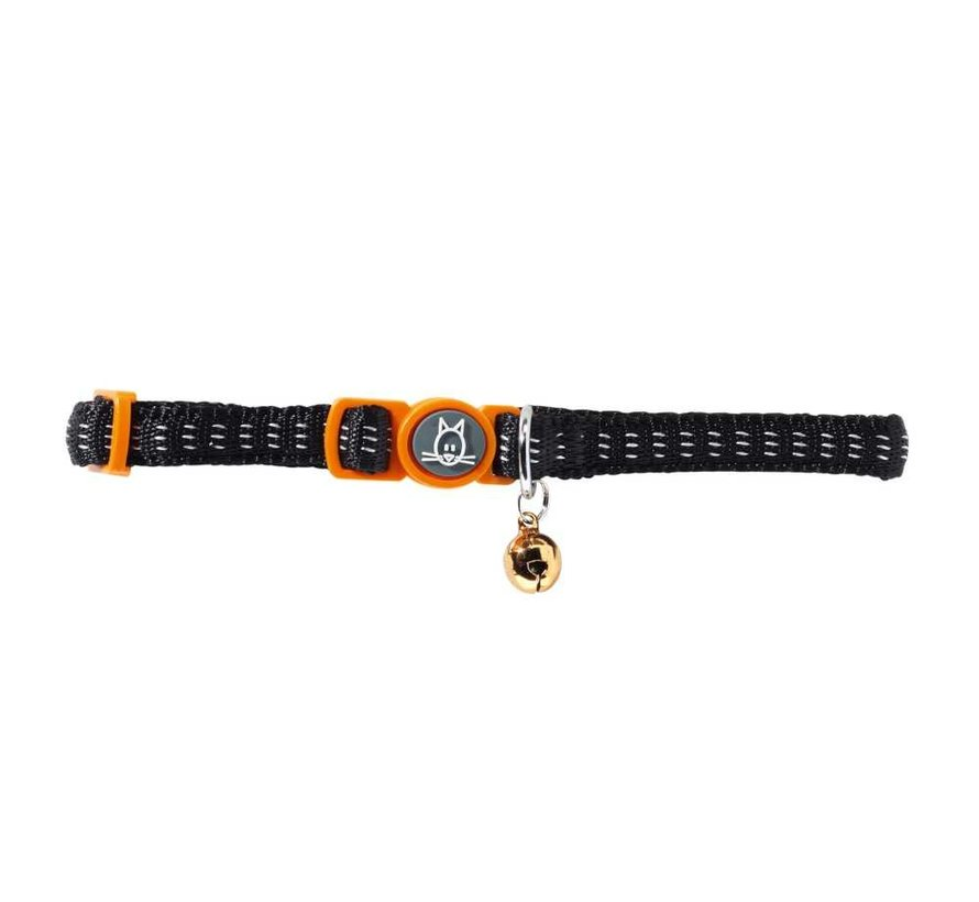 Cat Collar Turin Black