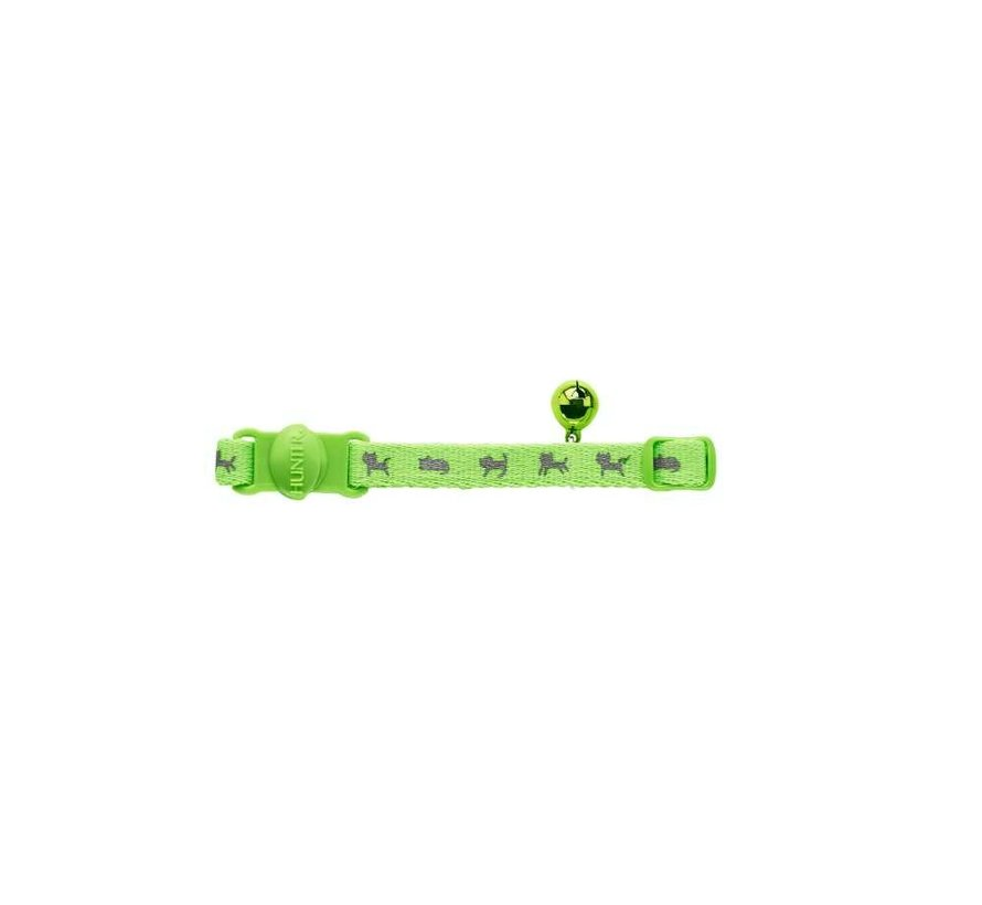 Kattenhalsband Neon Groen