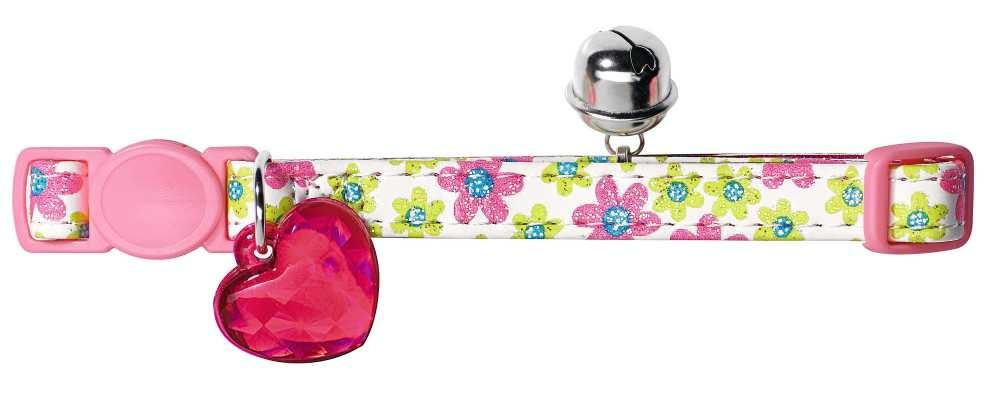 Kattenhalsband Spring Roze