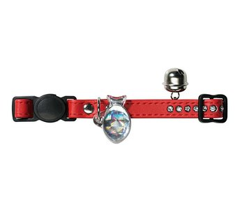 Hunter Cat Collar Modern Art Red