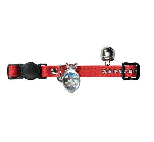 Hunter Cat Collar Modern Art Red