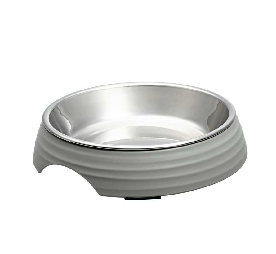 Cat Bowl Atlanta Grey