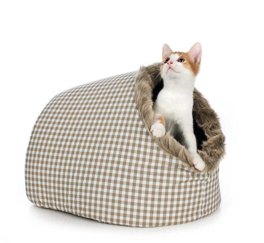 Cat Bed Astana Beige