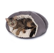 Hunter Cat Bed Brighton Grey