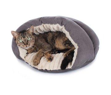 Hunter Cat Bed Brighton Grey