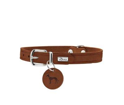 Hunter Dog Collar Aalborg Cognac