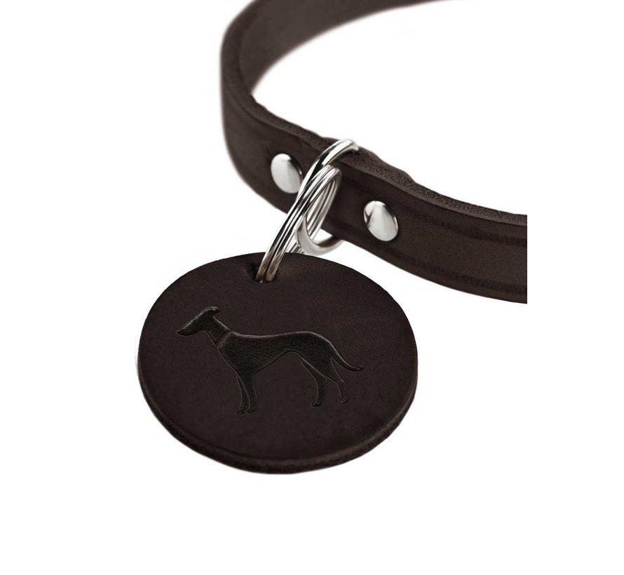 Dog Collar Aalborg Dark Brown