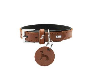 Hunter Dog Collar Larvik Cognac