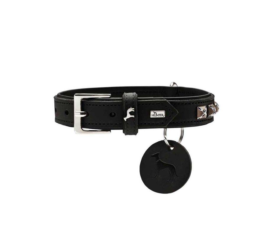 Hondenhalsband Larvik Style Zwart