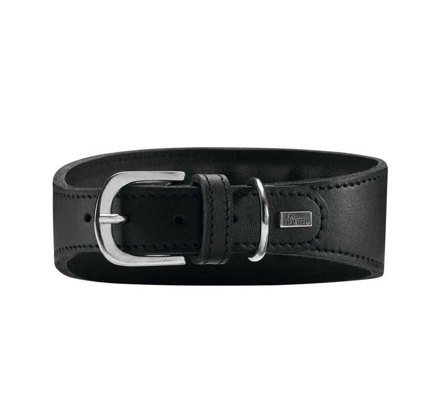 Windhonden Halsband Super Soft Zwart