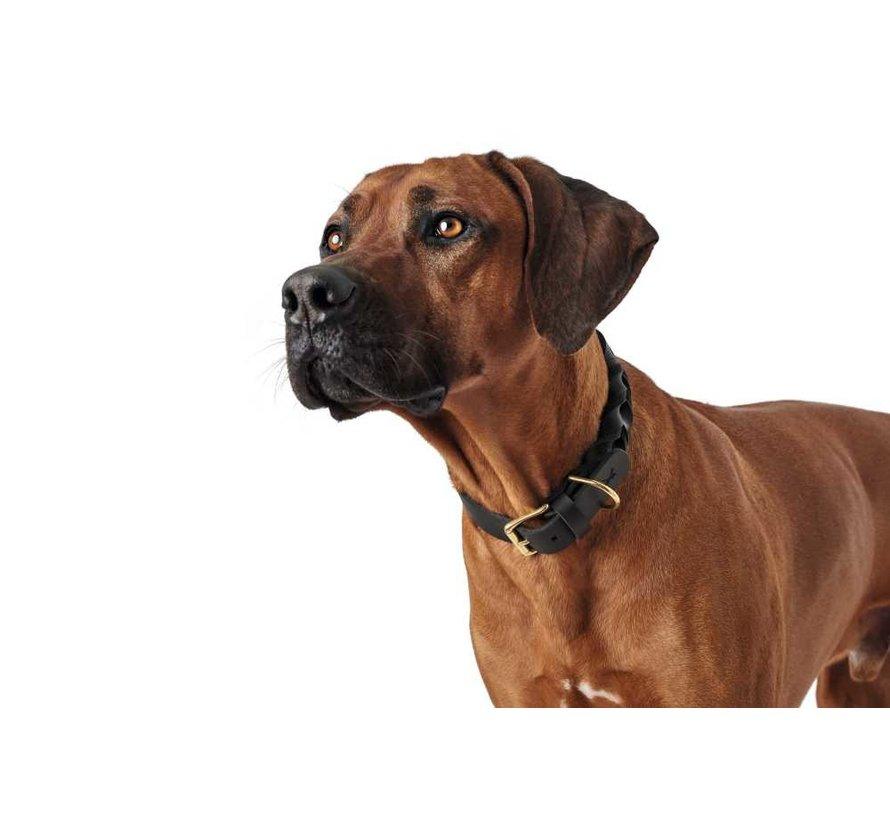 Dog Collar Sansibar Solid Black