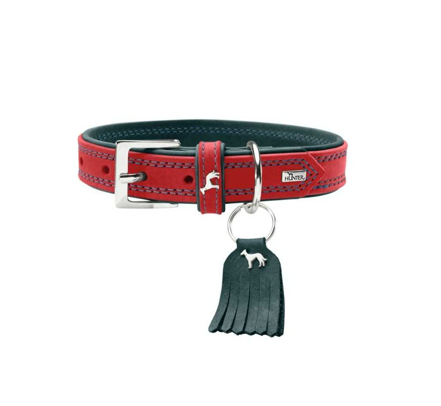 Dog Collar Lucca Red