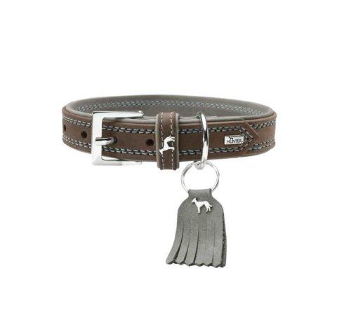 Hunter Dog Collar Lucca Walnut