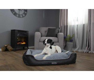 Scruffs Orthopedic Dog Bed Chateau Memory Foam Plush Dove