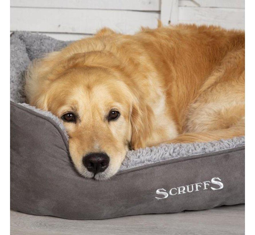 Dog Bed Cozy Box Bed  Grey