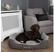 Scruffs Dog Bed Cozy Box Bed Grey