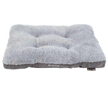 Scruffs Dog Cushion Cozy Grey
