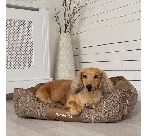 Scruffs Dog Bed Windsor Brown