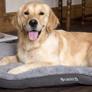 Scruffs Dog Cushion Windsor Grey