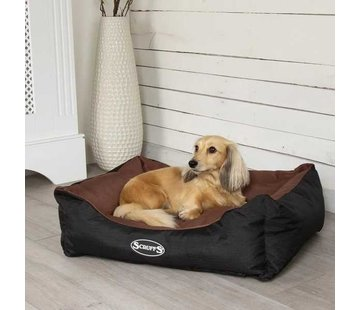 Scruffs Dog Bed Expedition Chocolate