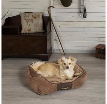 Scruffs Dog Bed Chester Chocolate