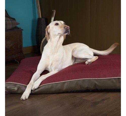 Scruffs Orthopedisch Hondenkussen Hilton Rood