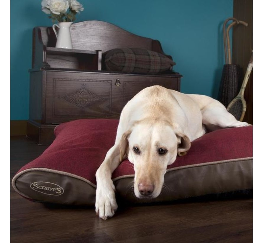 Orthopedisch Hondenkussen Hilton Rood
