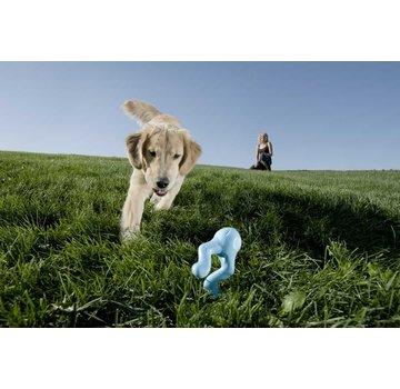 West Paw Design Dog Toy Zogoflex Tizzi Aqua