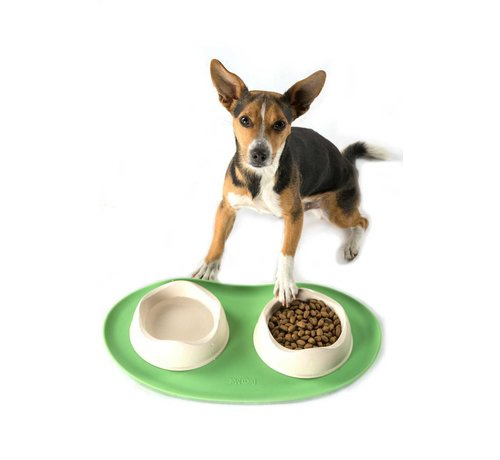Beco Pets Place Mat Green