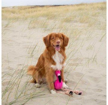 Beco Pets Dog Toy Plush Flamingo