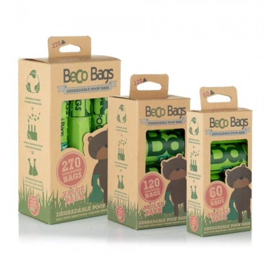 Poop bags Becobags