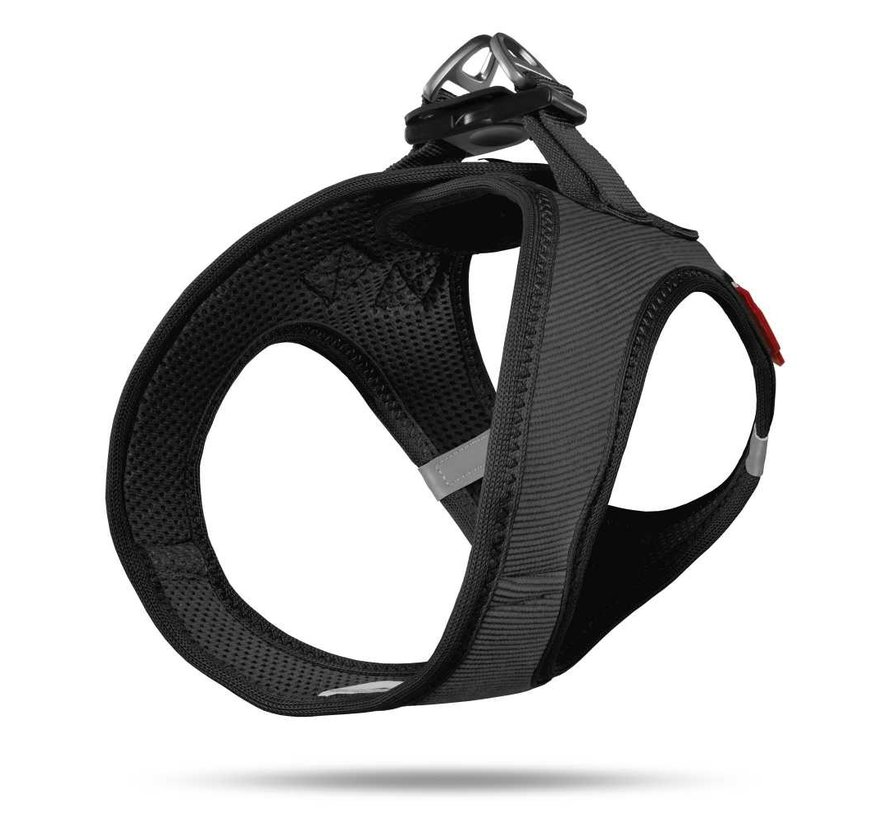 Dog Harness Vest Cord Black