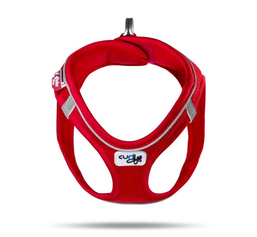Hondentuig Magnetic Harness Rood