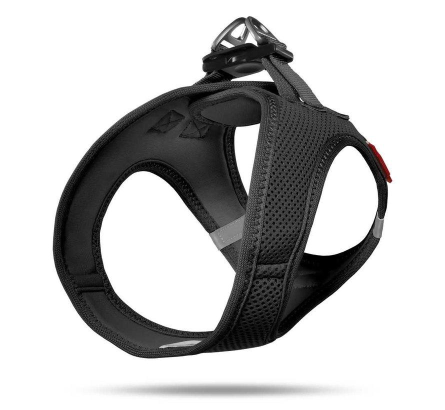 Hondentuig Air-Mesh Harness Black